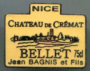 Chateau de Crémat pin