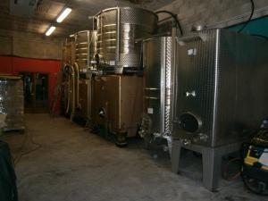 Cellars at Coteaux de Bellet, April 2013