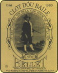 The original label of Clot dou Baille with Provençal motto