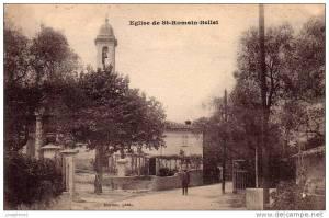 St Roman de Bellet church