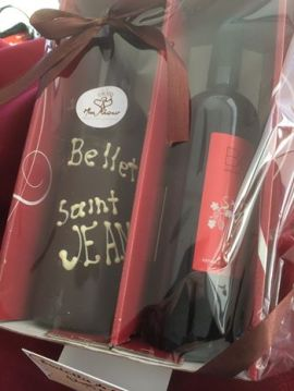 St Jean chocolate bottle